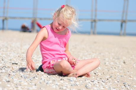 Lekker genieten op het strand.