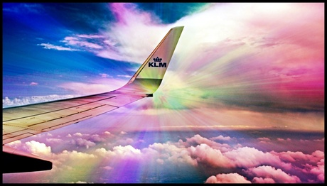 Fly With KLM ...
