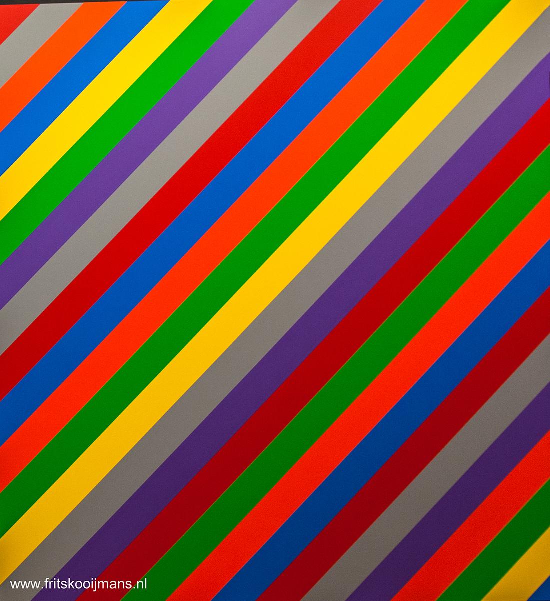 Deel Schilderij Stedelijk Museum Amsterdam - 201503146173 Schilderij Stedelijk Museum Amsterdam - foto door fritskooijmans op 26-05-2015 - deze foto bevat: kleuren, amsterdam, museum, schilderij, diagonaal, stedelijk museum