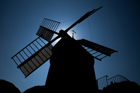 Moulin Silhouette