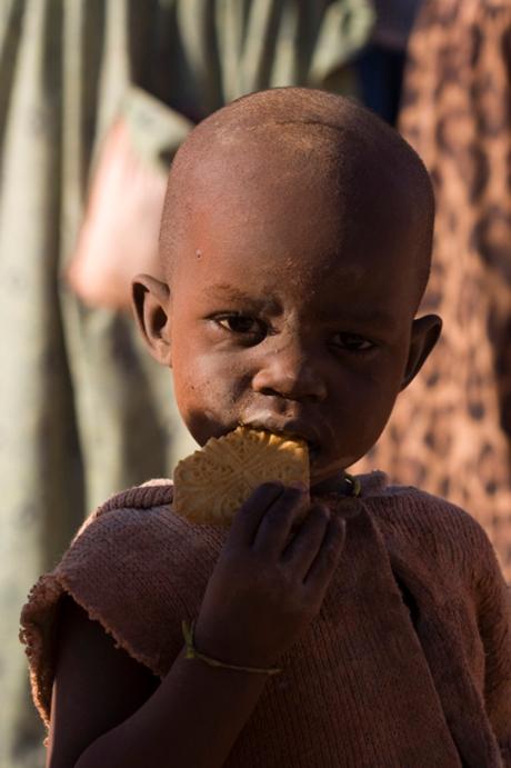 Kind in Namibië