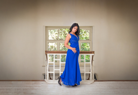 Joline, the Lady in blue.