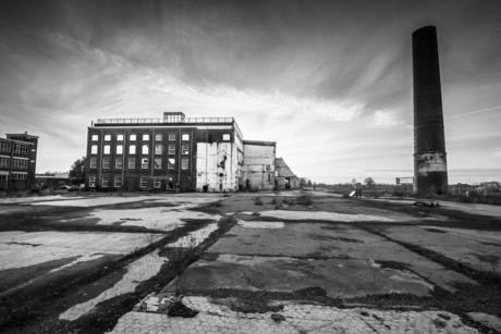 Oude suikerfabriek in Groningen