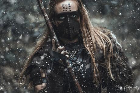 Warrior in snow