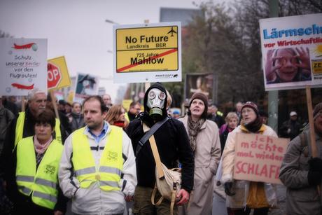 Protest in Berlijn
