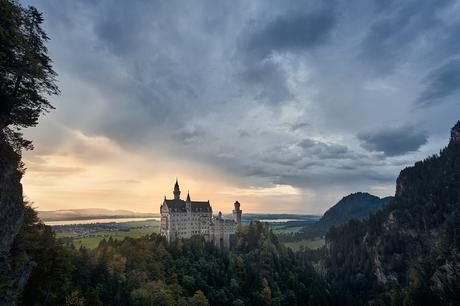 Slot Neuschwanstein in Schwangau, Duitsland