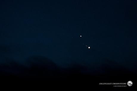 Conjunctie Jupiter en Saturnus