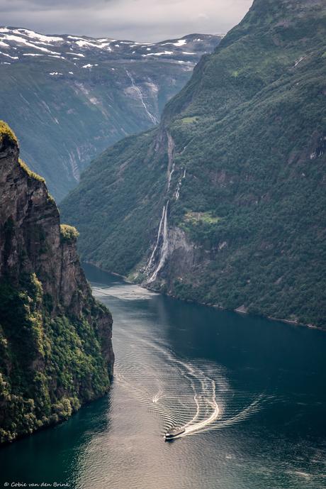 Geiranger fjord - Noorwegen