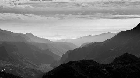 Mountains Zwart wit