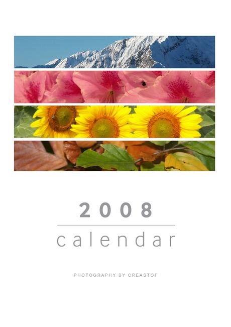 Kalender 2008 voorblad