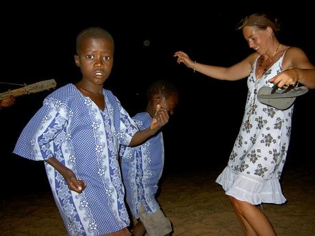 Dansen in Malawi