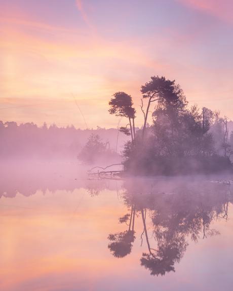 Bijzondere zonsopkomst