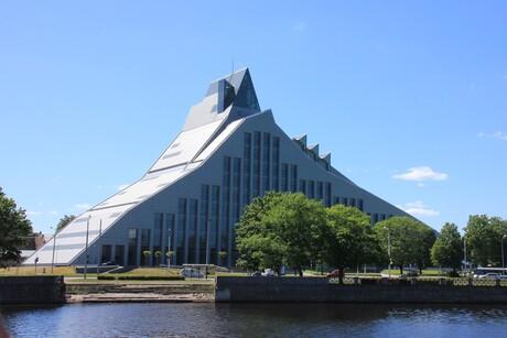Bibliotheek van Riga Letland