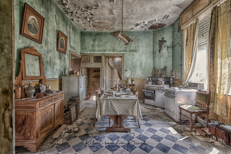 A old kitchen