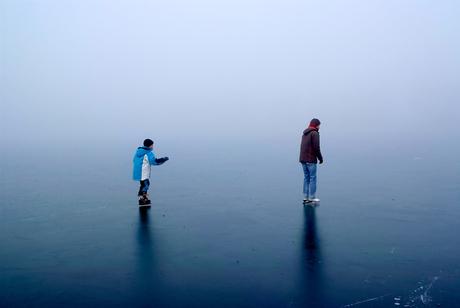 Oneindig schaatsen.....