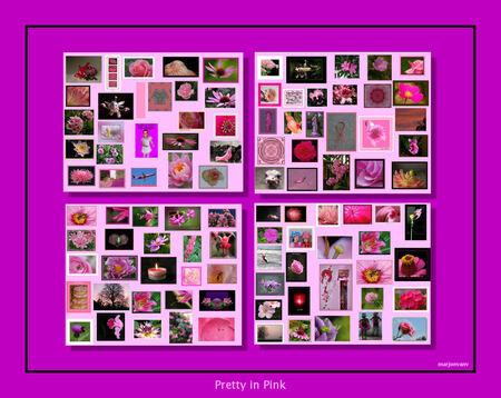 100 Pink Ribbon - Iedereen heel heel heel erg bedankt voor de roze Up loads. Gisteren waren de eerste 100 een feit. Heb er een collage van gemaakt. Probeer ze allemaal - foto door marjonvanv op 09-10-2008 - deze foto bevat: pink-ribbon