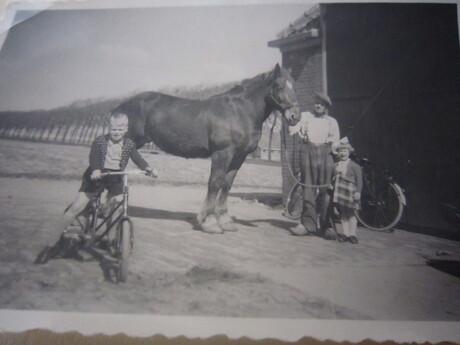 doortrap fietsje 1951