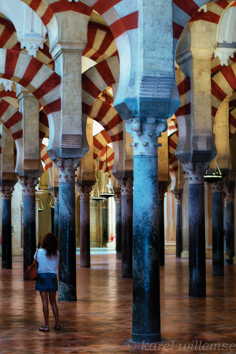 cordoba - Mezquita - foto door karelwillemse op 27-10-2014 - deze foto bevat: architectuur, kerk, gebouw, stad, cultuur, geloof, reisfotografie