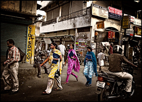 Streetlife in Madras