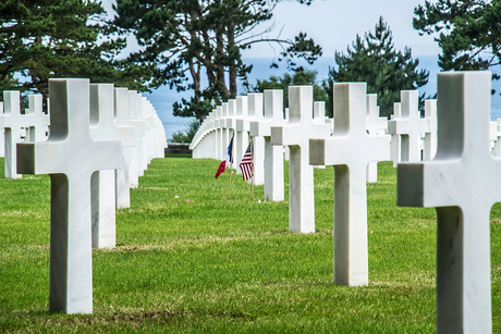 American Military Cemetery Colleville-sur-mer Normandië