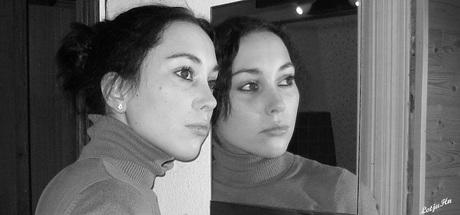 My TwinSistah @ the Mirror