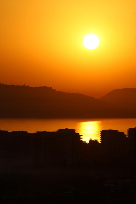 Zonsondergang Turkije