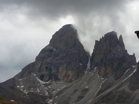 De Dolomieten in Italië