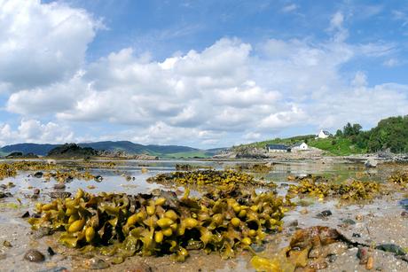 de kust van Skye