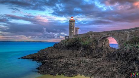 Vuurtoren van Petit Minou , Bretagne, Frankrijk