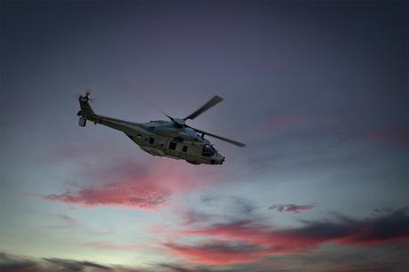 NH90-maritieme gevechtshelikopter