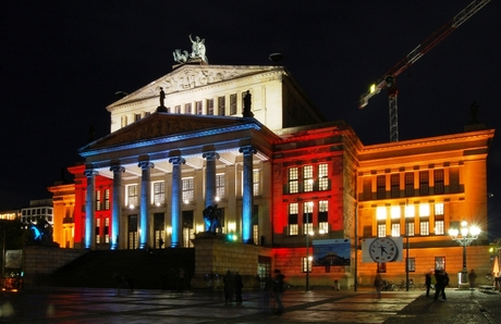Berlijn - Festival of Lights - Konzerthaus