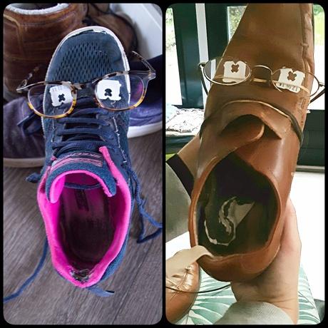 mevrouw en meneer schoen