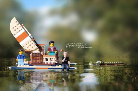 Lego katamaran vakantie Aryen