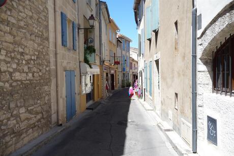 Straatje in St, Remy de Provence