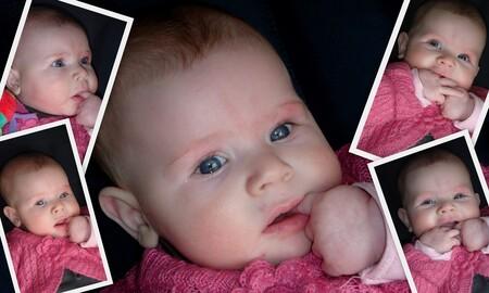 Mijn kleine handjes en ik........ - Mijn mooie meid haat beste vriendjes zijn op dit moment haar handjes.......... - foto door mariah1982 op 05-02-2010 - deze foto bevat: baby, handjes