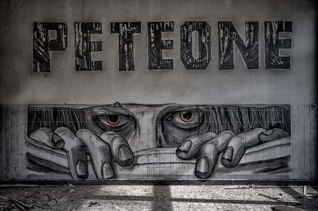 Grafitti van Peteone