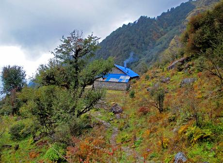 Slaapplek Nepal reis