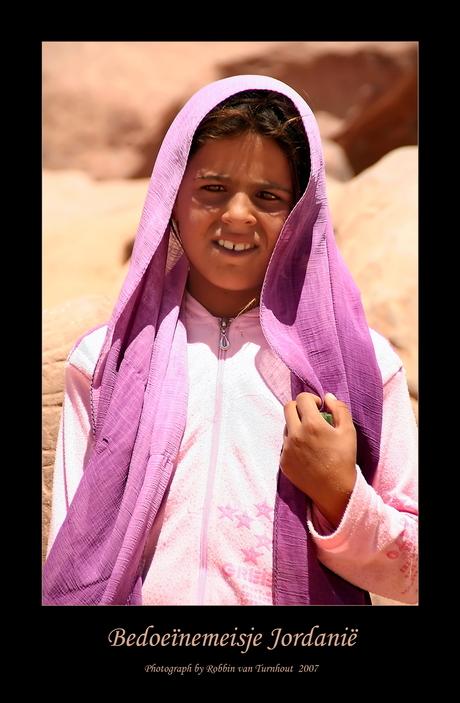Bedoeïnemeisje 2 (Jordanië)