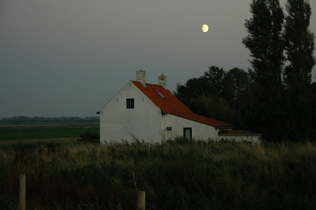 opkomende maan