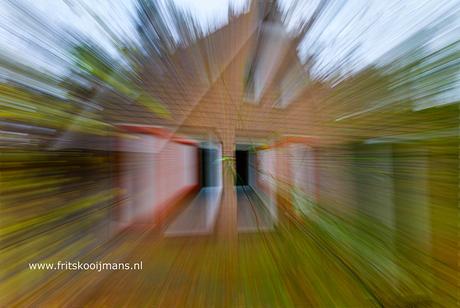 Door draaien aan de lens tijdens fotograferen