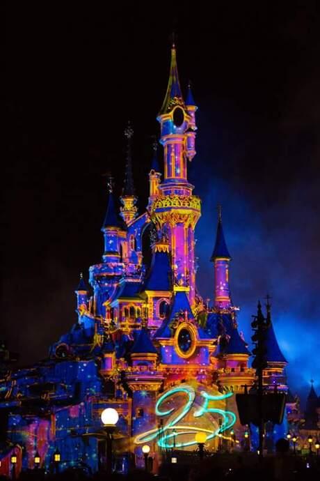 Disneyland late night