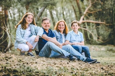 Family shoot groepsportret