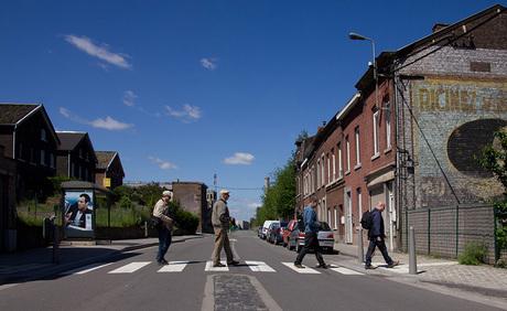 de vier heren (Abbey road)