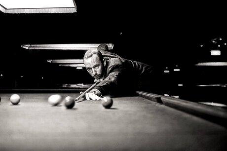 Pool, Steve McQueen style