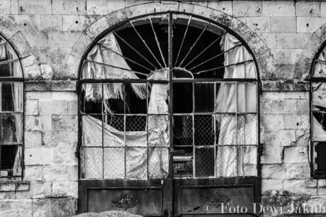 Verlaten gebouw in frankrijk