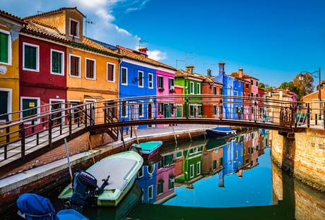 Kleurrijke reflectie