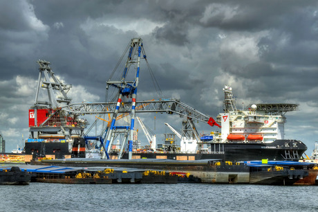 HDR Rotterdamse haven