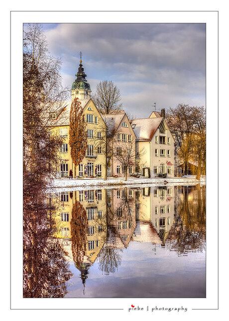 Spiegelende woningen Bad Waldsee