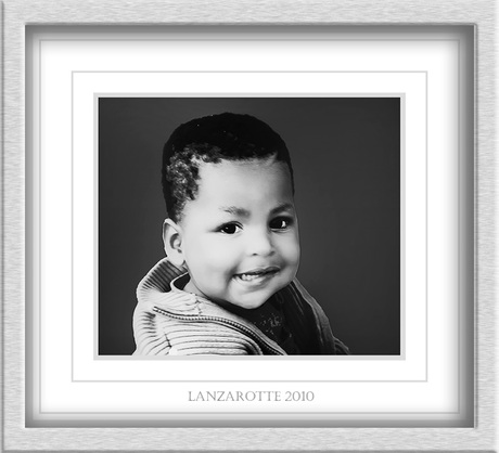 Portretje in zwart-wit