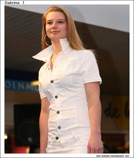 Sabrina on the Catwalk....